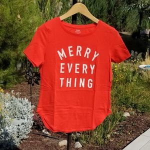Old Navy Merry Everything Graphic T-Shirt